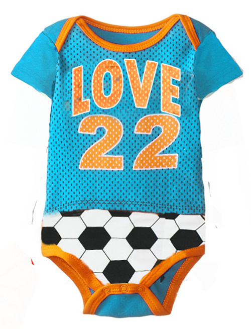 2b726bffea6 Football Rompers for babies (12 to 18 months) - Greentikki
