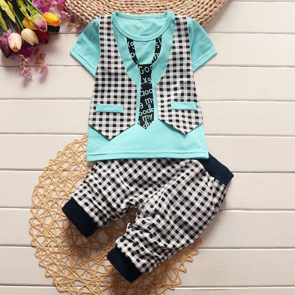 a815fe5fc Summer baby boy dress gentleman set(1-4 Year) - Greentikki