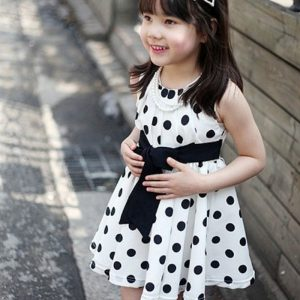 Polka dot Chiffon Sun dress