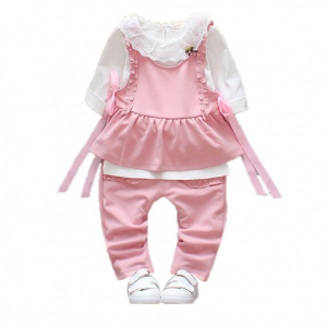Full Sleeves Cute Kids Dress