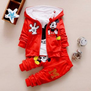 Stylish Micky Hooded Jacket