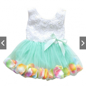Floral Petal Dress