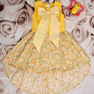Baby Girls Big Bow Dress