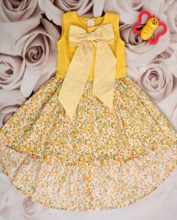 Baby Girls Big Bow Dress