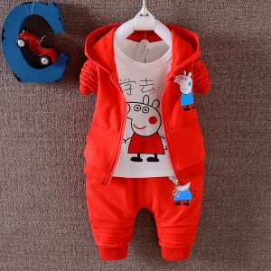 Stylish Peppa Hooded Jacket