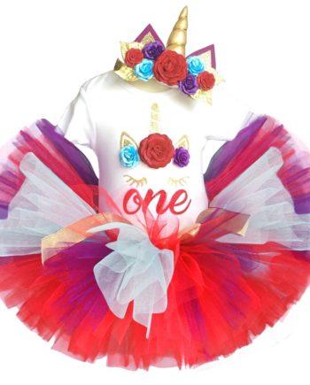Greentikki_First birthday dress for baby girl