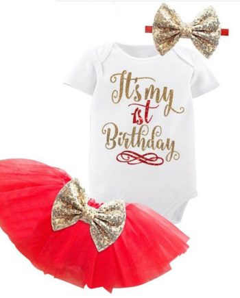 First Birthday Tutu Dress Set