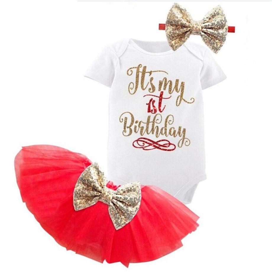 First Birthday Tutu Dress Set