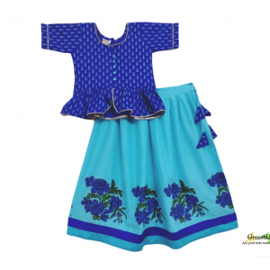 Greentikki girls lehenga set