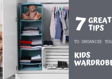 7 Great tips to organize your Kids wardrobe