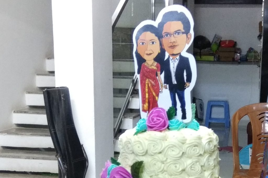 cake topper birthday decoration at home