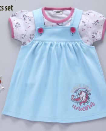 Unicorn Newborn Baby Girl Dress