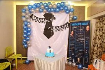 boss baby theme birthday decorations at home