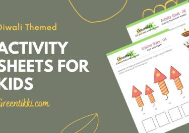 Diwali Themed Activity Sheets for Kids