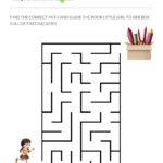 kids activity sheets