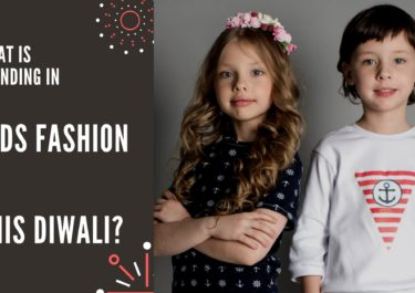 What is trending in Kids fashion for this Diwali?