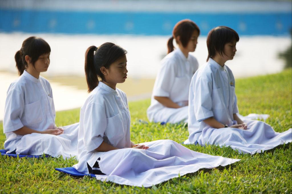 Meditate to improve moral value for kids!