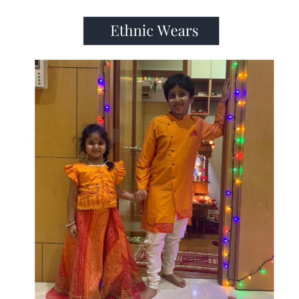 greentikki-kids traditional dress